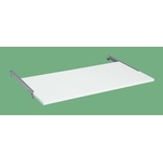 Optional Sliding Shelves for Work Benches, Pearl White
