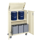 Movable Steel Cabinet for 18 L Drums