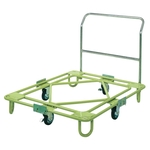 Freely Rotating Dolly, Medium Weight Type, with Handle Type