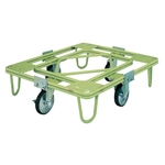 Freely Rotating Dolly, φ200, Rubber, without Handle