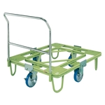 Freely Rotating Dolly, 200φ, Urethane, with Handle