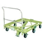 Freely Rotating Dolly, Ultra-Heavy Weight Type, with Handle / Central Base