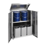 Stainless Steel 18 L Drum Storage - 18 L Drum/Pail Dual Use Type - Fixed Type