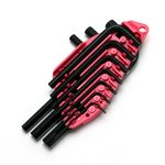 L-Shape Hex Key Set - 10 Piece Set, Metric or Inch (SK 11)