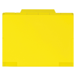 6 Index Holder A4 Yellow