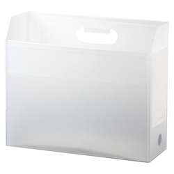 Add One, Box File, A4, Lateral, Clear