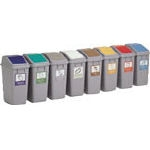 Eco Compartmentalized Trash Can 30 Lid