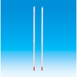 Red Liquid Rod-Shaped Thermometer