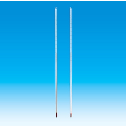 Red Liquid Rod Shaped Thermometer Leg Length