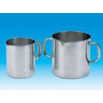 Beaker Stainless Steel with One-Handle and Scale 100 mL–10 L