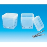 Toslon Airtight Container, Square, 10 L Natural