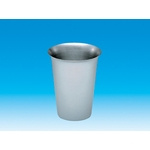 Stainless Steel, No-Handle Dental Cup 200 ml