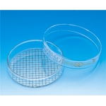 Petri Dish with Special Print 1 mm - 10 mm Grid (TGK)