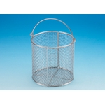 Stainless Steel Test Tube Basket/Wash Basket Round