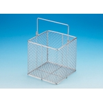 Stainless Steel Test Tube Basket/Wash Basket Square