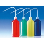 Colored Washing Bottle 500 ml LDPE Red/Yellow/Blue/Green