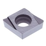 "Turning Insert Diamond, with Hole, 80°, Positive 7°, CCGT0602○○R/L-W15 ""for Finishing"""
