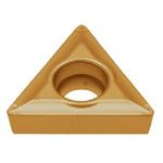 "60° Triangle with Hole, Positive 7° TCMT09020○ ""Finishing to Medium Cutting"""