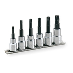 Torx Socket Set (Strong Type with Holder) HTX306