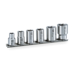 SUS Socket Set (Hexagonal with Holder) SHS306