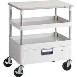 Phoenix Wagon (Noise Suppression Type with Single-Level Drawers and Countertop) Height 759 mm