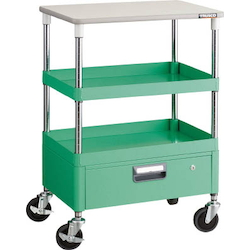Phoenix Wagon (Noise Suppression Type with Single-Level Drawers and Countertop) Height 899 mm