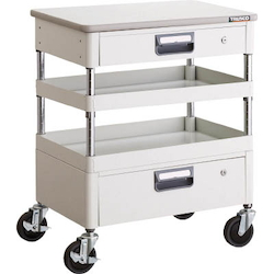 Phoenix Wagon (Noise Suppression Type with Thin Single-Level/Single-Level Drawers and Countertop) Height 759 mm