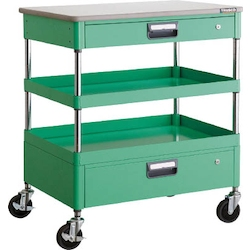 Phoenix Wagon (Noise Suppression Type with Thin Single-Level/Single-Level Drawers and Countertop) Height 899 mm