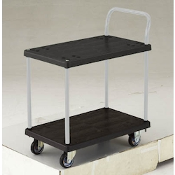 Electro-Conductive Resin Hand Truck Gran Cart, 2 Level Single Handle Type
