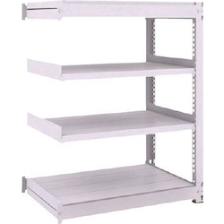 Medium Capacity Boltless Shelf Model TUG (300 kg Type, Height 1,200 mm, 4 Shelf Type) Linked Type (Height 1,200 mm, 4 Shelf Type)