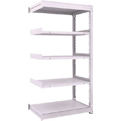 Medium Capacity Boltless Shelf Model TUG (300 kg Type, Height 1,800 mm, 5 Shelf Type) Linked Type (Height 1,800 mm, 5 Shelf Type)