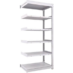 Medium Capacity Boltless Shelf Model TUG (300 kg Type, Height 2,100 mm, 6 Shelf Type) Linked Type (Height 2,100 mm, 6 Shelf Type)