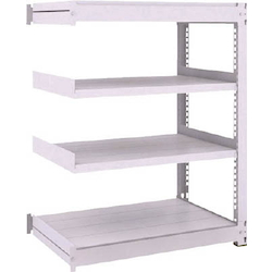 Medium Capacity Boltless Shelf Model TUG (450 kg Type, Height 1,200 mm, 4 Shelf Type) Linked Type (Height 1,200 mm, 4 Shelf Type)