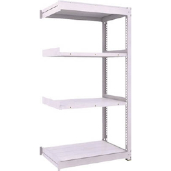 Medium Capacity Boltless Shelf Model TUG (450 kg Type, Height 1,800 mm, 4 Shelf Type) Linked Type (Height 1,800 mm, 4 Shelf Type)