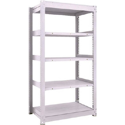 Medium Capacity Boltless Shelf Model TUG (450 kg Type, Height 1,800 mm, 5 Shelf Type) Single Unit Type (Height 1,800 mm, 5 Shelf Type)