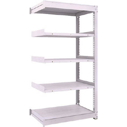 Medium Capacity Boltless Shelf Model TUG (450 kg Type, Height 1,800 mm, 5 Shelf Type) Linked Type (Height 1,800 mm, 5 Shelf Type)