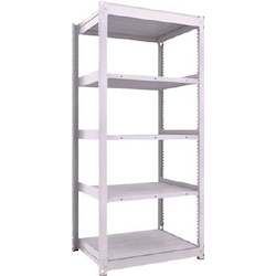 Medium Capacity Boltless Shelf Model TUG (450 kg Type, Height 2,100 mm, 5 Shelf Type) Single Unit Type (Height 2,100 mm, 5 Shelf Type)