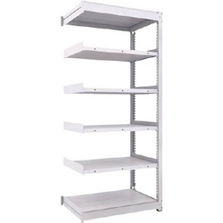Medium Capacity Boltless Shelf Model TUG (450 kg Type, Height 2,100 mm, 6 Shelf Type) Linked Type (Height 2,100 mm, 6 Shelf Type)
