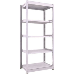 Medium Capacity Boltless Shelf Model TUG (600 kg Type, Height 2,100 mm, 5 Shelf Type) Single Unit Type (Height 2,100 mm, 5 Shelf Type)
