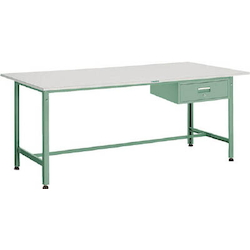 Light Work Bench with 1 Drawer Linoleum Tabletop Average Load (kg) 300