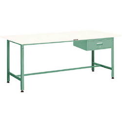 Light Work Bench with 1 Drawer Steel Tabletop Average Load (kg) 300