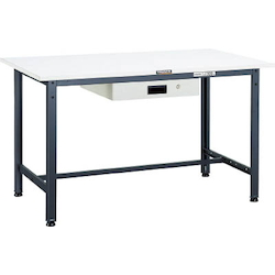 Light Work Bench with 1 Thin Drawer Plastic Panel Tabletop Average Load (kg) 300