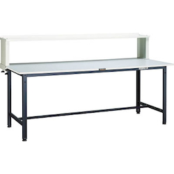 Light Work Bench with Upper Shelf Linoleum Tabletop Average Load (kg) 300