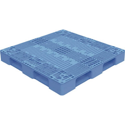 Plastic Pallet Automatic Warehouse Supported Black/Blue