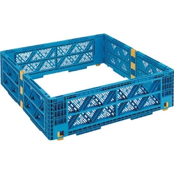 Optional Layers for Pallet Box Multi-Level Container Mesh Type
