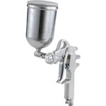 Spray Gun with Cup Set Gravity Type Nozzle Diameter (mm) φ1.3 Cup Material Aluminum Die-Casting