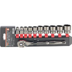 Socket Wrench Set (12 Sided Type / 9.5 mm Insertion Angle)