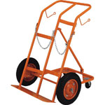 Canister Dolly, for Oxygen and Acetylene Canisters, 4 Wheel Type