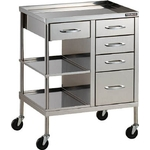 Stainless Steel Wagon (SUS304 / with Drawers)