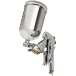 Spray Gun with Cup Set Gravity Type Nozzle Diameter (mm) φ1.3 Cup Material Brass/Aluminum Die-Casting
